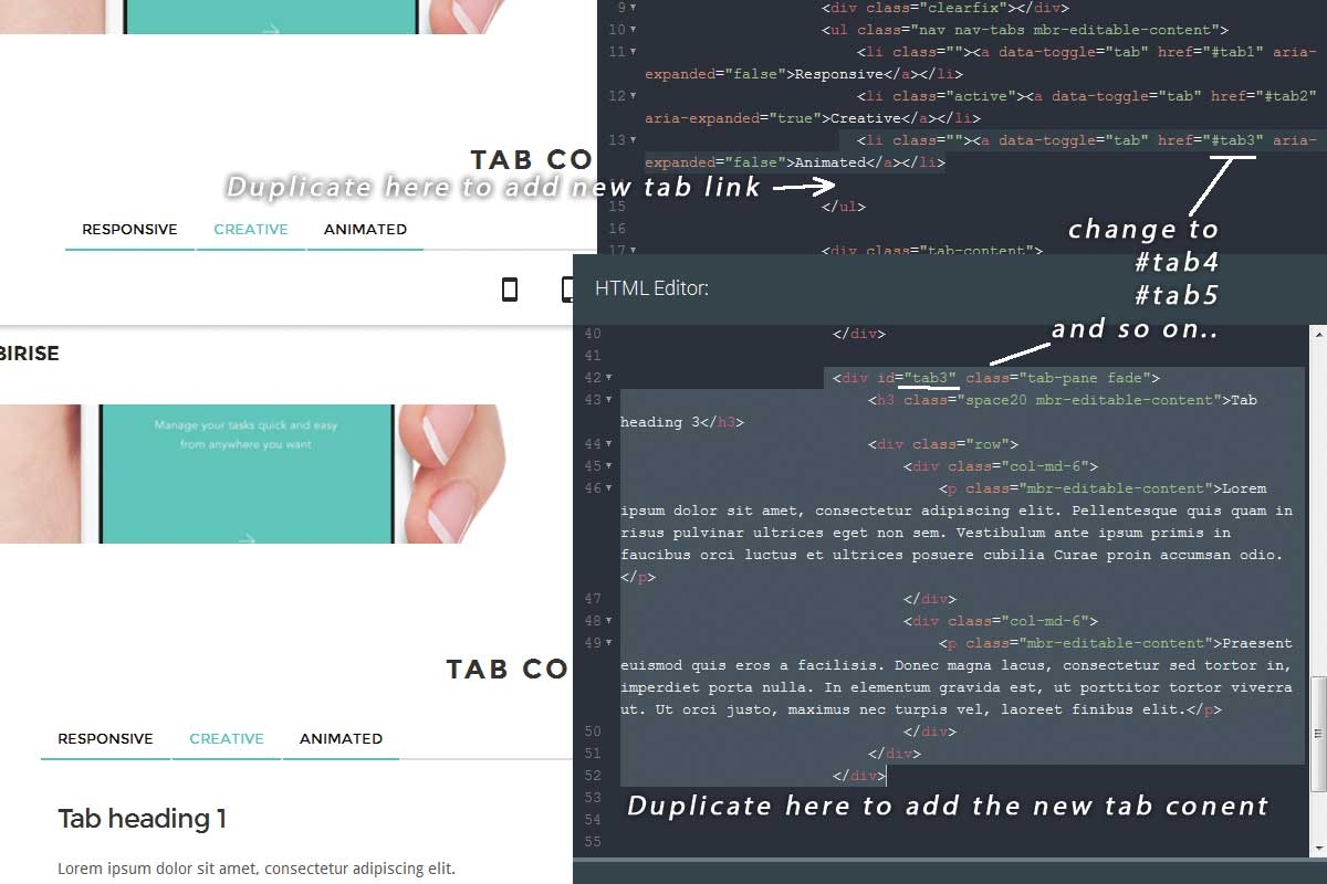 Simple Bootstrap Minimal Theme Download