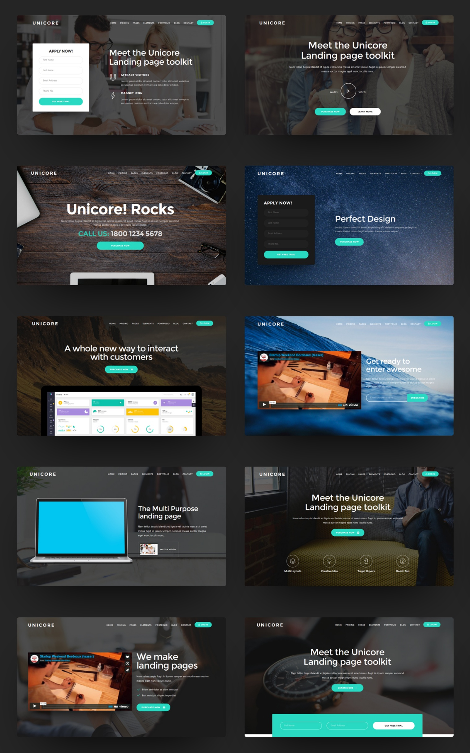 Simple Bootstrap  Theme Download
