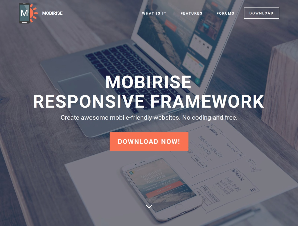 HTML Responsive Web Template