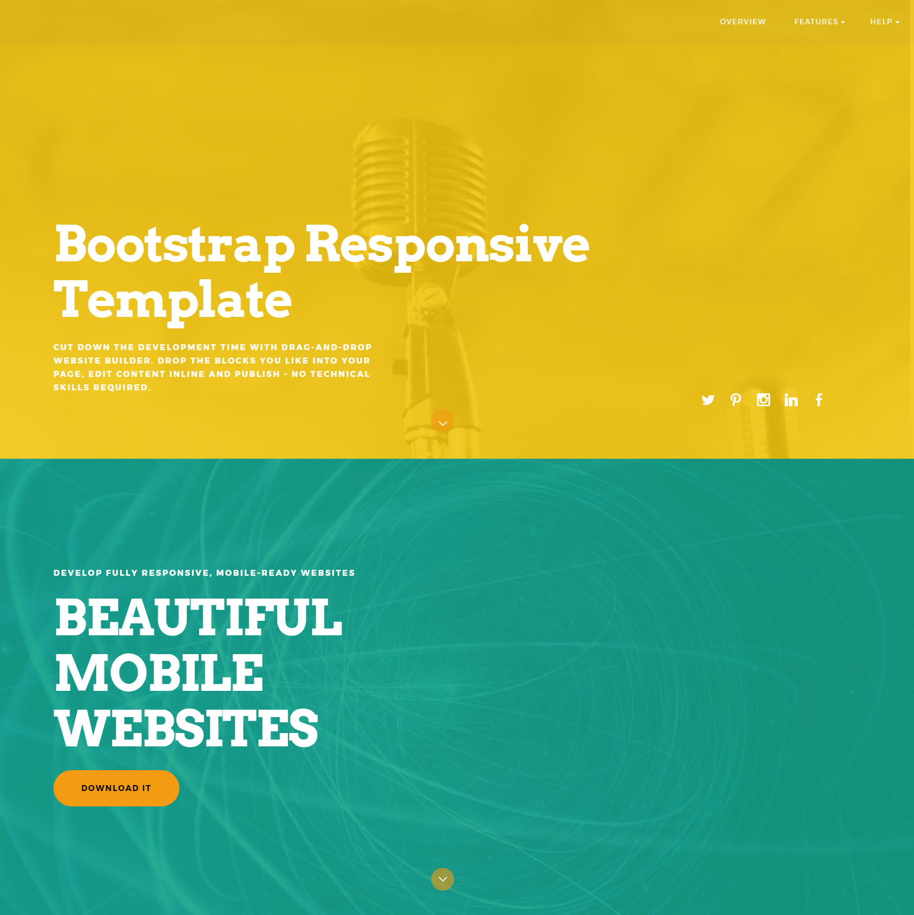HTML Bootstrap ColorM Templates