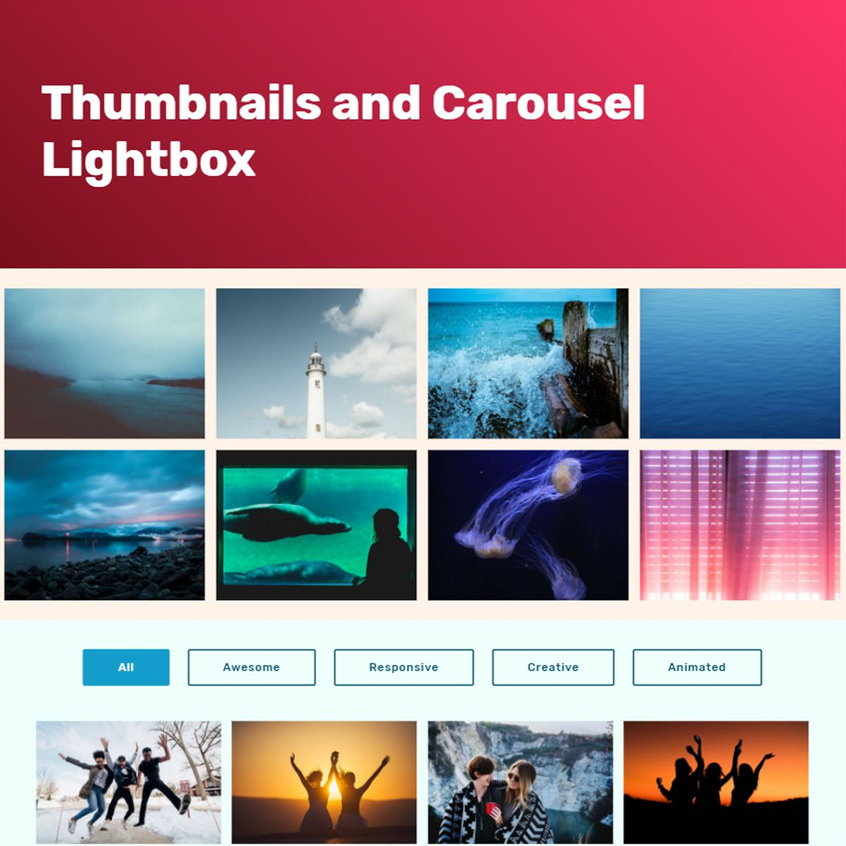 CSS Bootstrap Picture Carousel